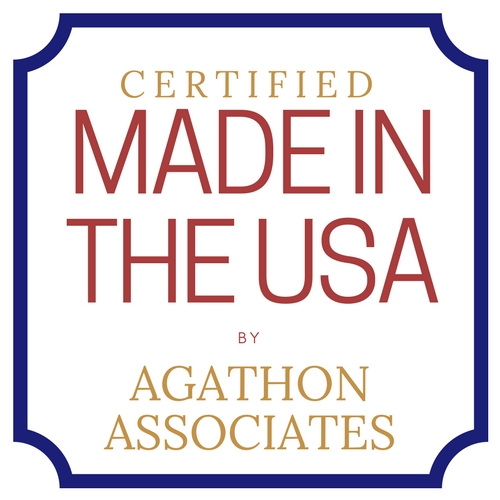 Certified Made In The USA by Agathon Associates